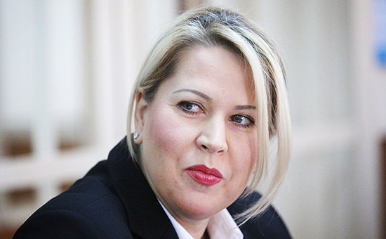 Бывшая глава департамента имущественных отношений Минобороны РФ Евгения Васильева. Архивное фото