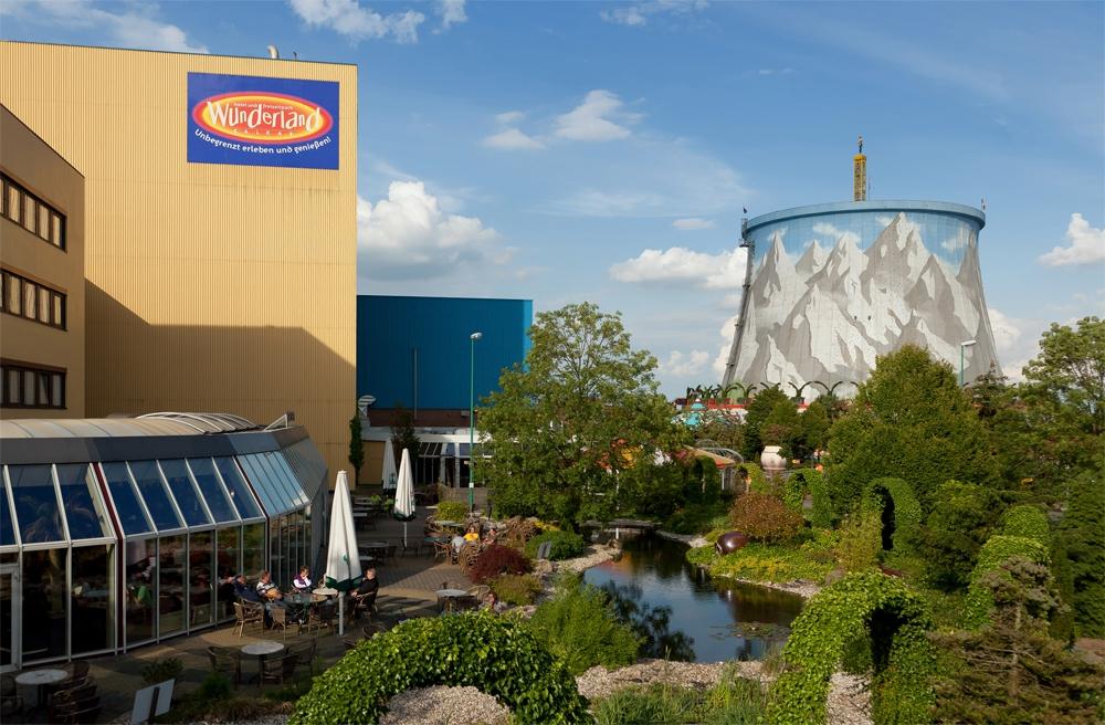 Недостроенная АЭС в Германии используется в качестве парка развлечений