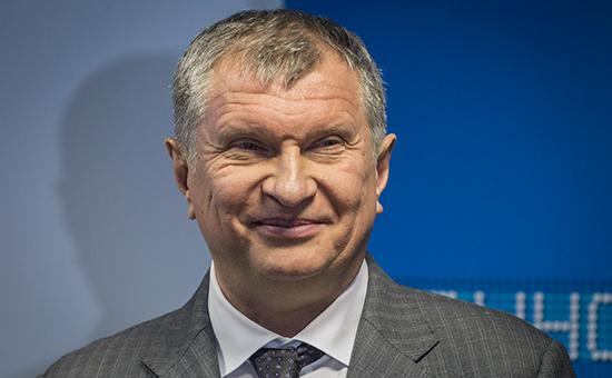 Руководитель «Роснефти» Игорь Сечин