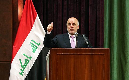 Премьер Ирака Хайдер аль-Абади