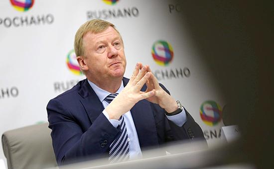 Глава «Роснано» Анатолий Чубайс