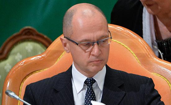 Первый заместитель руководителя администрации президента России Сергей Кириенко