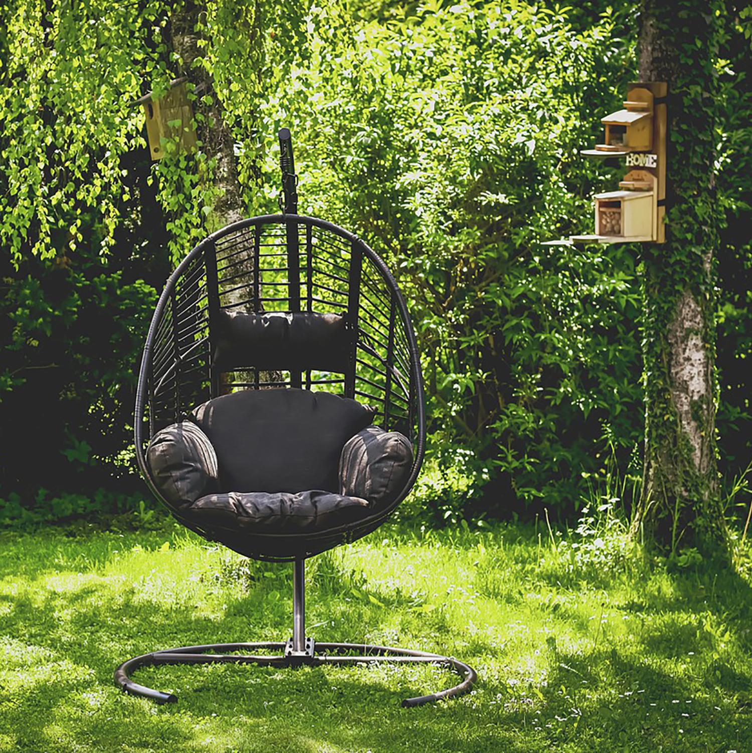 Подвесное кресло без крепления к потолку