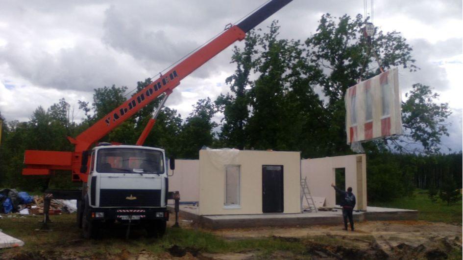 Префаб можно построить за пять-семь дней