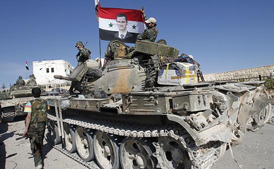 Солдаты сирийской армии