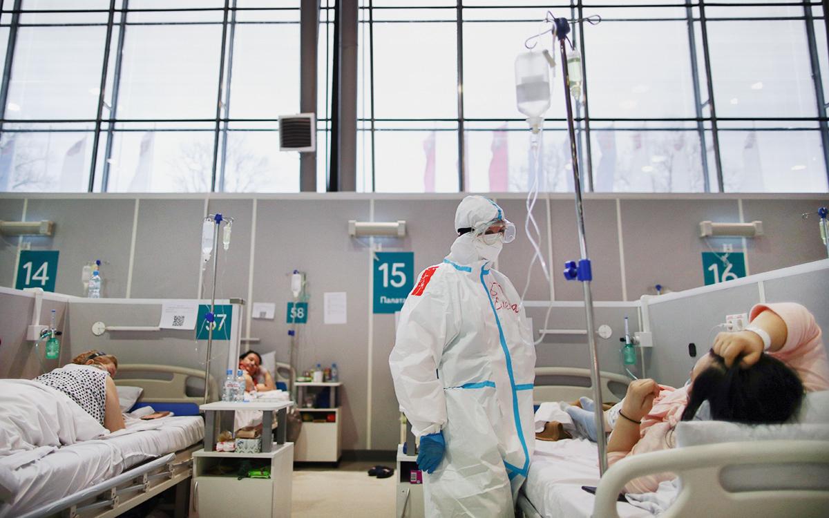 В России за сутки выявили 8,8 тыс. новых случаев коронавируса