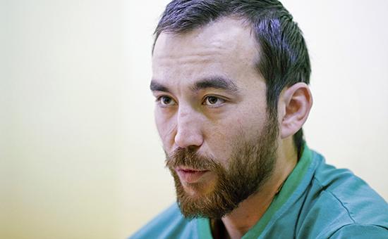 Плененный россиянин ЕвгенийЕрофеев.