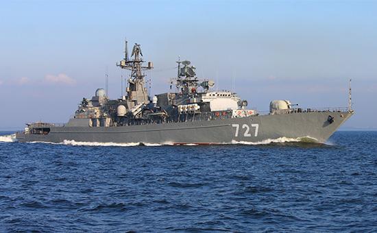 Фрегат ВМС России «Ярослав Мудрый»