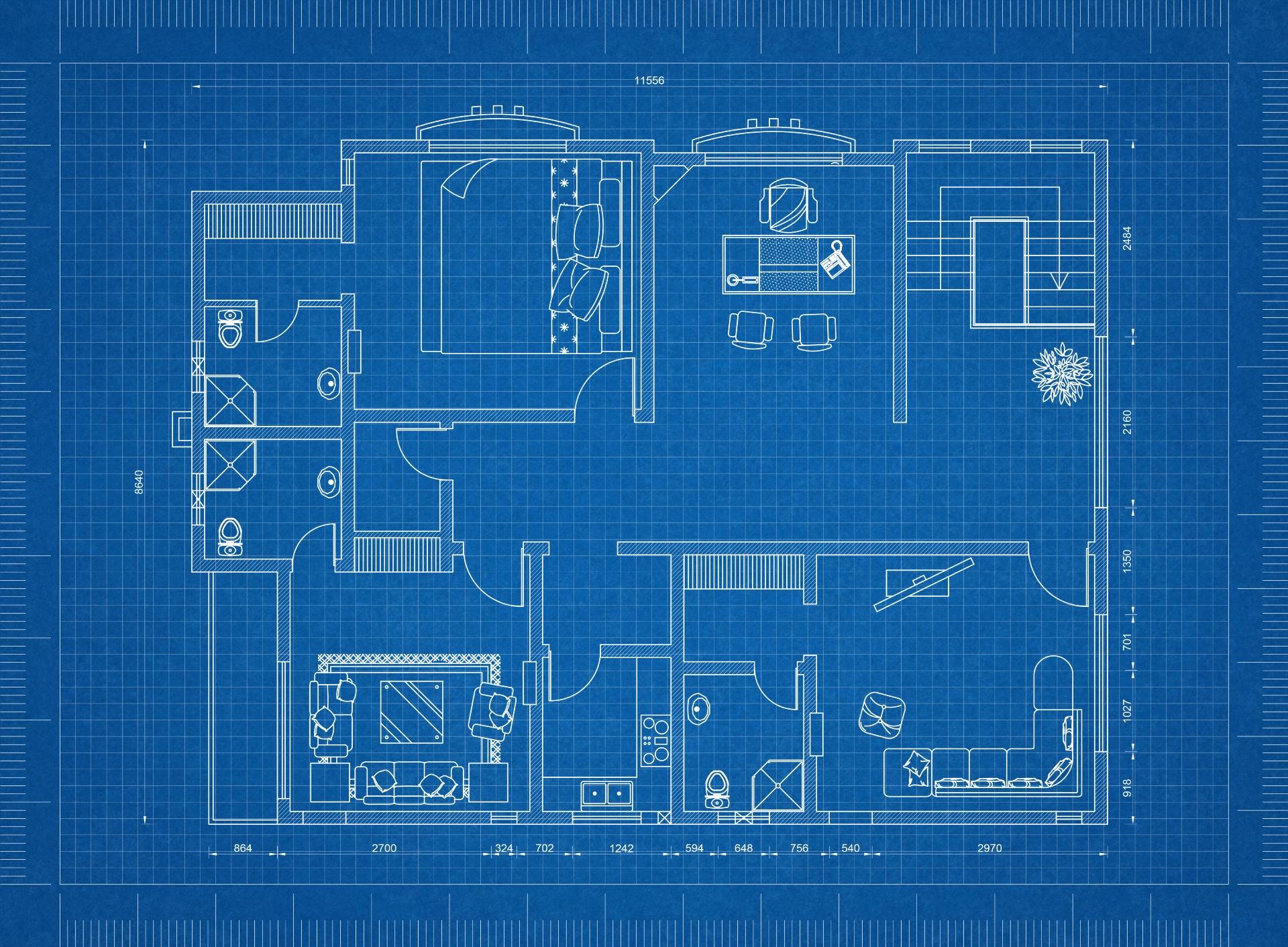 Планировка дома должна быть гибкой и функциональной. Никаких 100-метровых залов!