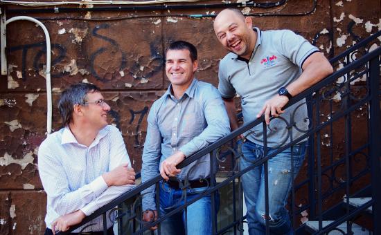 Дмитрий Алексеев, Константин Богданенко, Сергей Мещанюк — группа DNS.