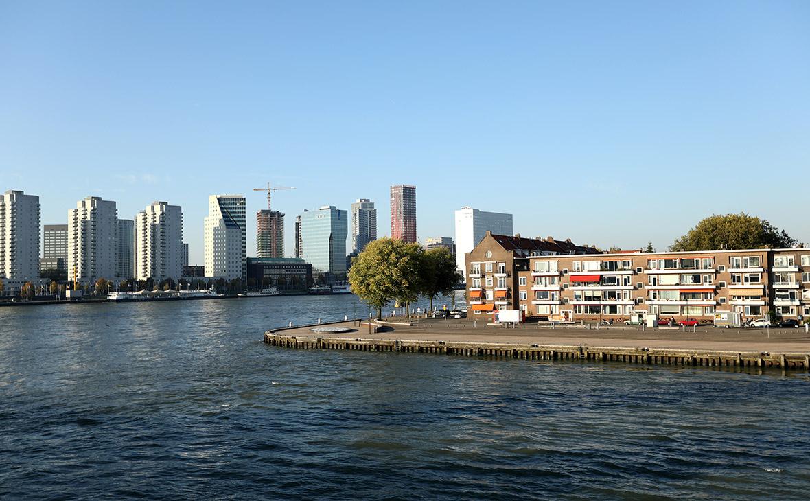 Вид на городРоттердам