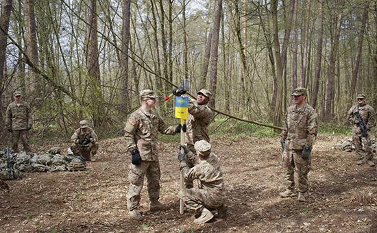 На Украине начались совместные учения с участием украинских и иностранных военнослужащих