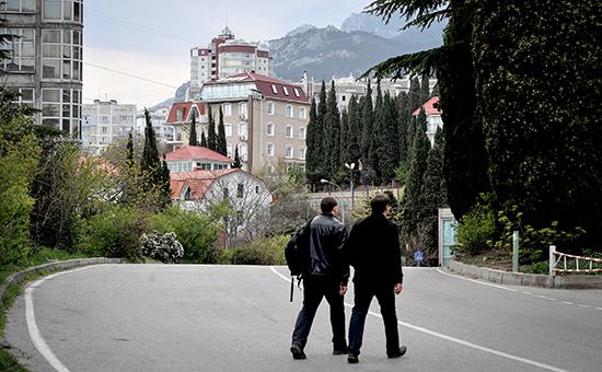 Дома на южном побережье Крыма