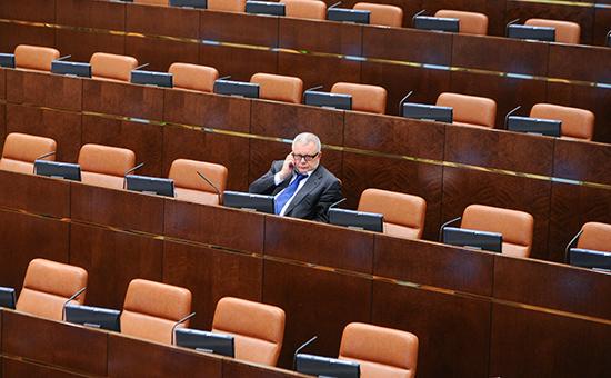Бывший сенатор и экс-губернатор Самарской области КонстантинТитов