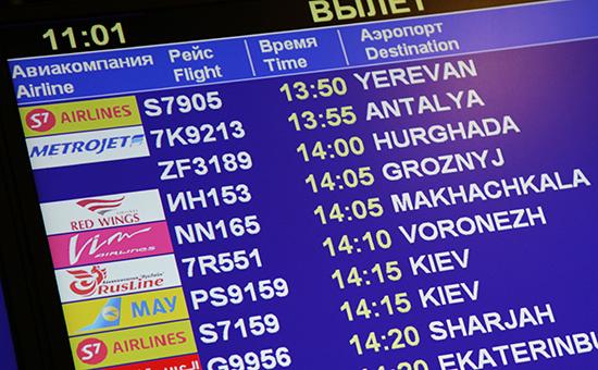 Киев потребовал от Москвы отказа от полетов в Крым для отмены санкций