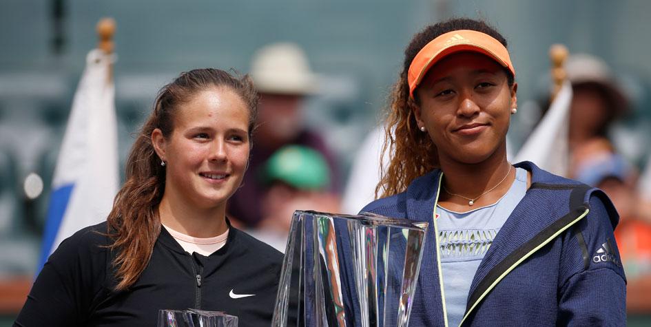 Первой ракеткой России стала 20-летняя теннисистка