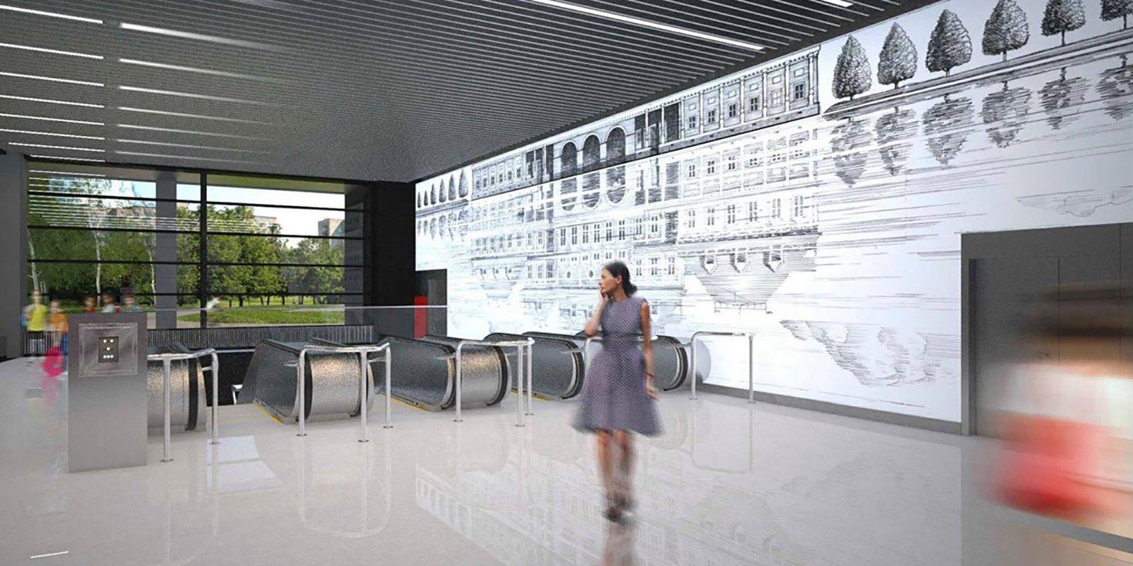 Проект станции «Лефортово»БКЛ