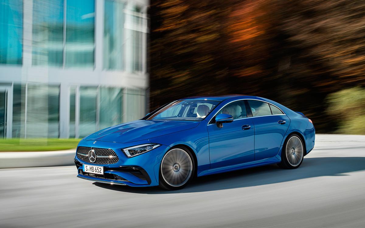 <p>Mercedes-Benz CLS 2021</p>