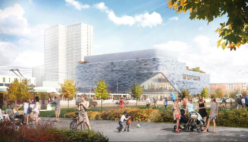 Проект реконструкции кинотеатра «Киргизия»