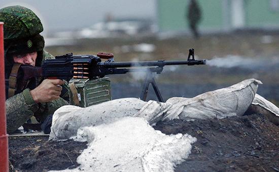 Стрелковые учения вРостовской области