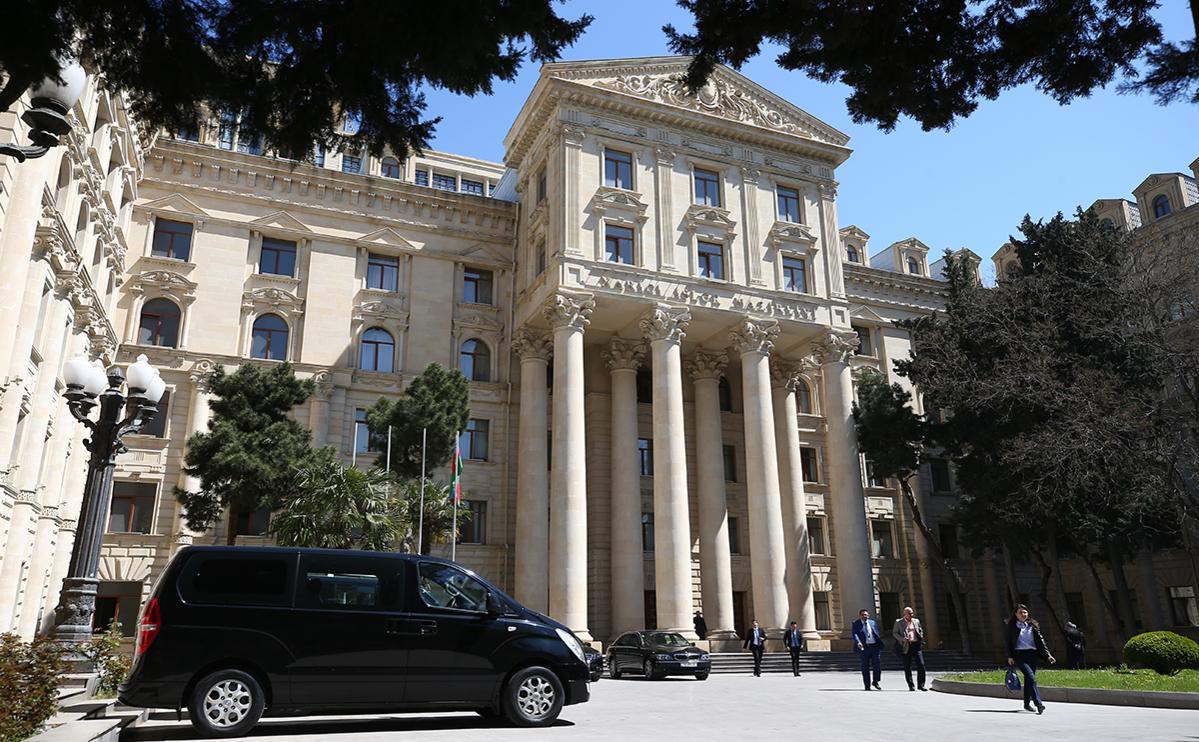 Здание Министерства иностранных дел Азербайджана