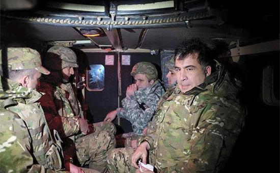 Глава Одесской областной администрацииМихаил Саакашвили