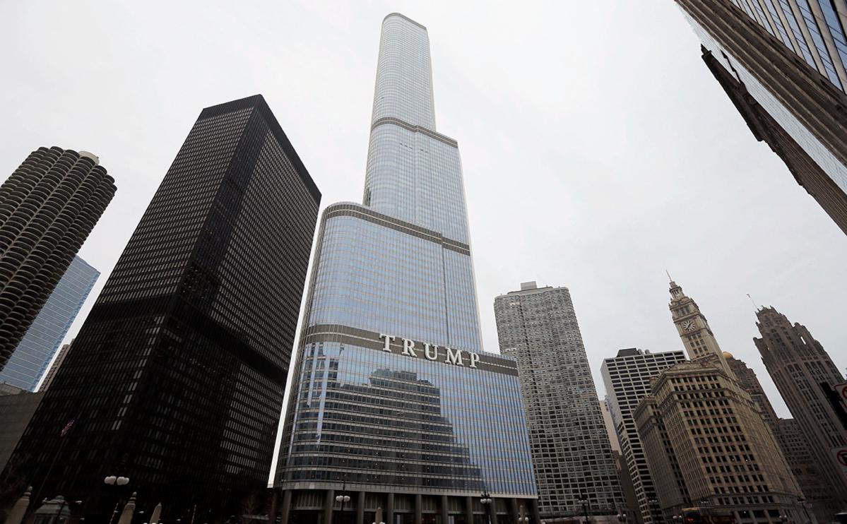 Отель-небоскреб Трампа в Чикаго