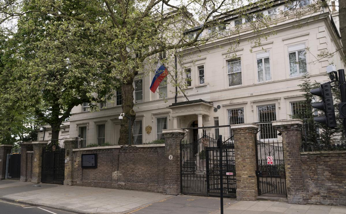 Здание посольства России в Великобритании
