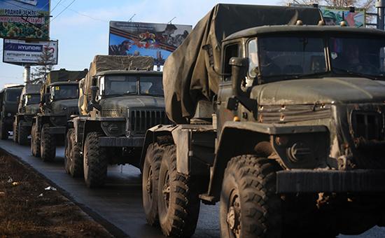 Ополченцы Донбасса анонсировали завершение отвода тяжелой военной техники