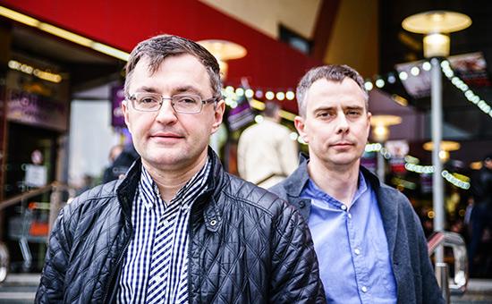 Владислав Кулагин иМаксим Кульгин (слева направо)