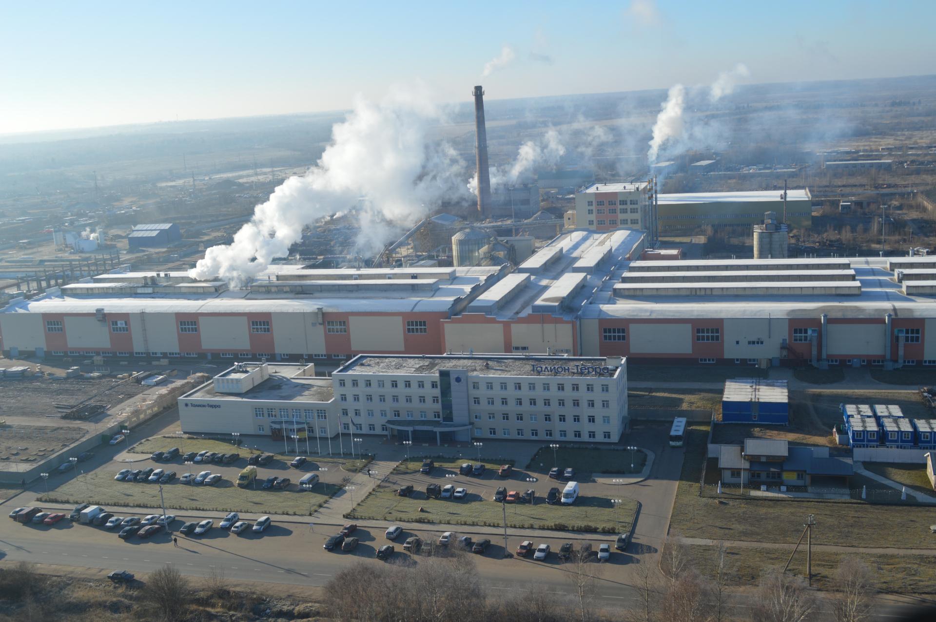 Завод «Талион Терра», производство LVL-бруса, домокомплектов и конструкций