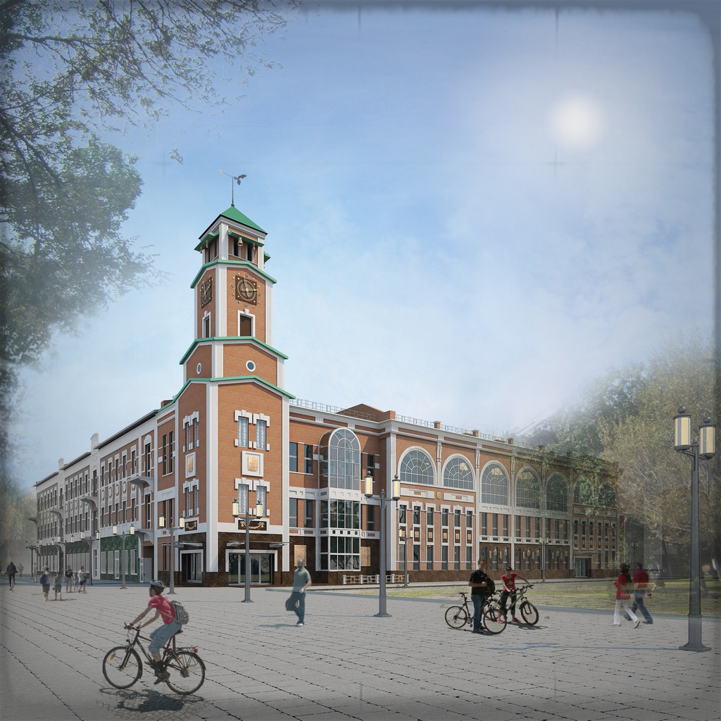 Проект реконструкции торгового дома «Башня»