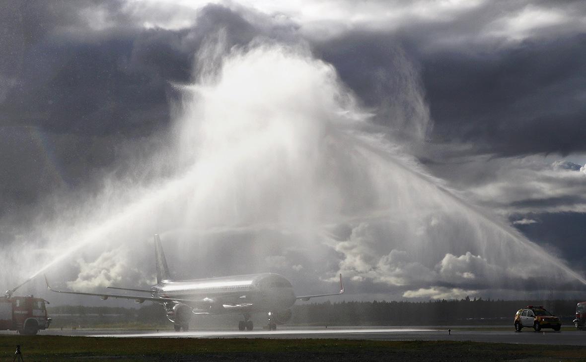 Третья взлетно-посадочная полоса в международном аэропорту Шереметьево имени А. С. Пушкина