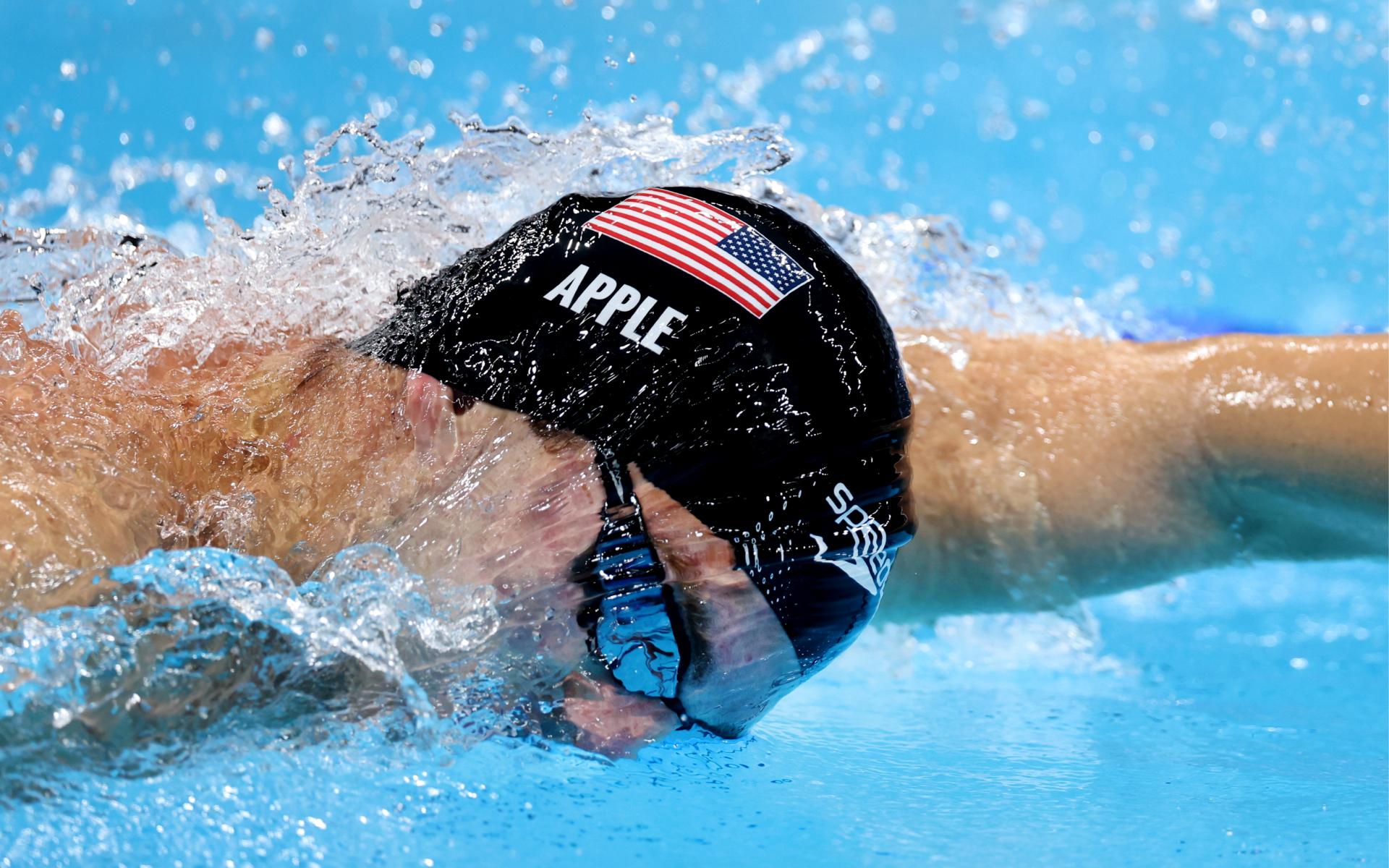 Фото: Американский пловец Зак Эпл (Photo by Tom Pennington/Getty Images)