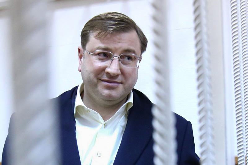 БизнесменДмитрий Михальченко вБасманном районном суде. Март 2016 года