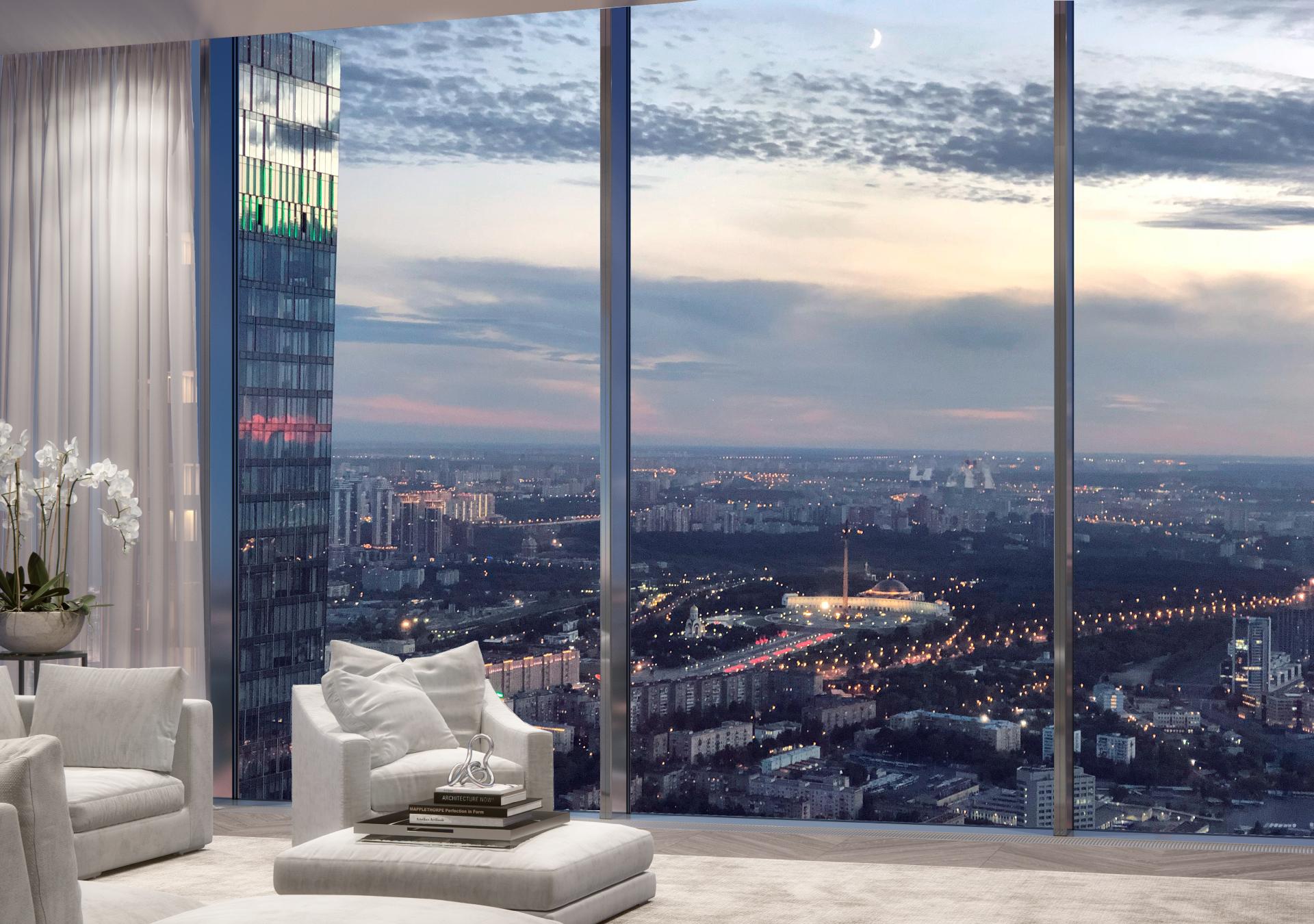 Neva Towers. Дизайн