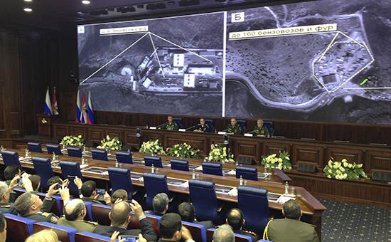 Брифинг Министерства обороны РФ