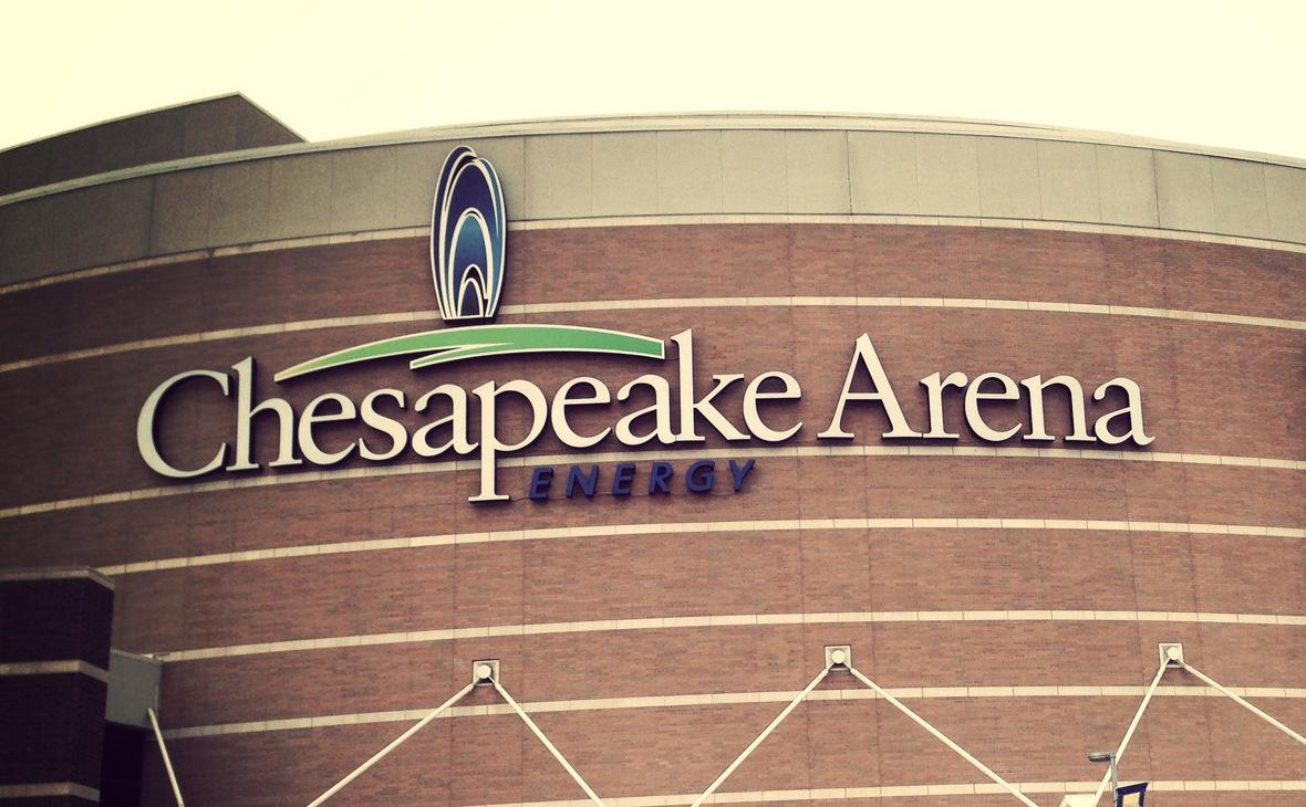 Арена Chesapeake Energy Arena в Оклахома-Сити, на которой играет клуб НБА «Оклахома-Сити Тандер»