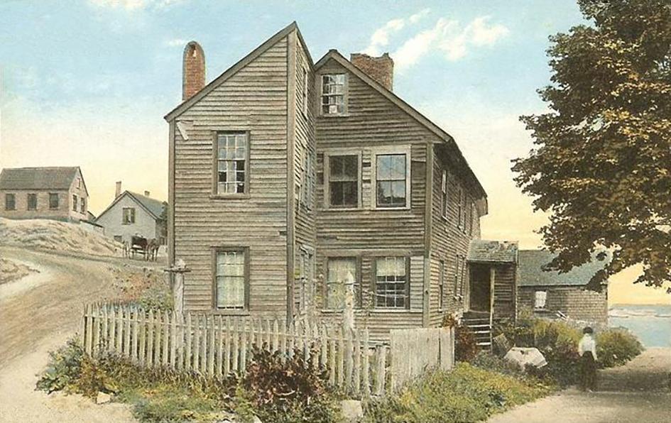 Один из первых американских «spite house» построен в 1715 году и хорошо сохранился до наших дней