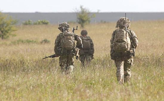 Учения британских военных