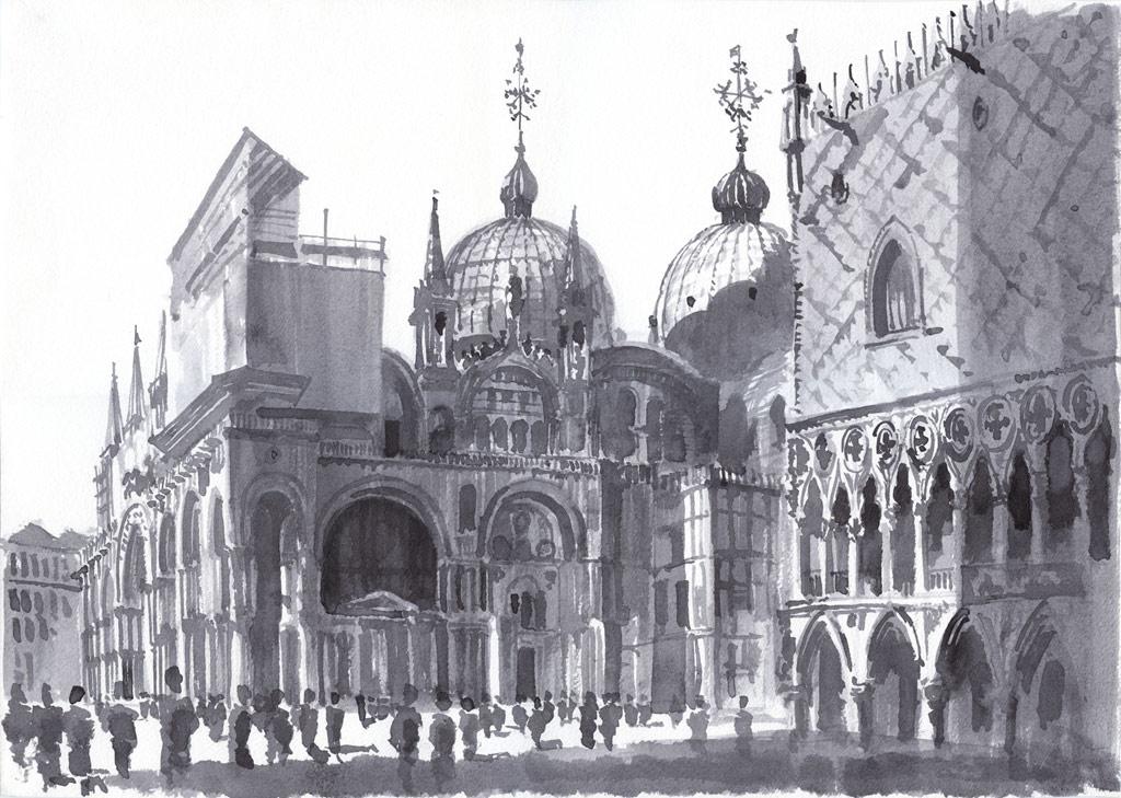 Кафедральный собор Венеции — базилика Сан-Марко