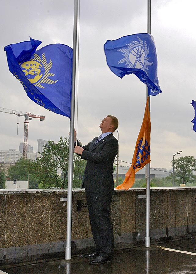 Глава РАО «ЕЭС России» Анатолий Чубайс, 2008 год