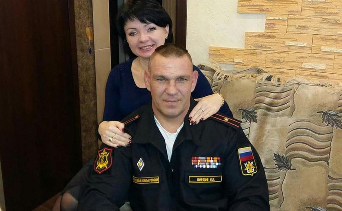 Сергей Бордов с женой Виталиной