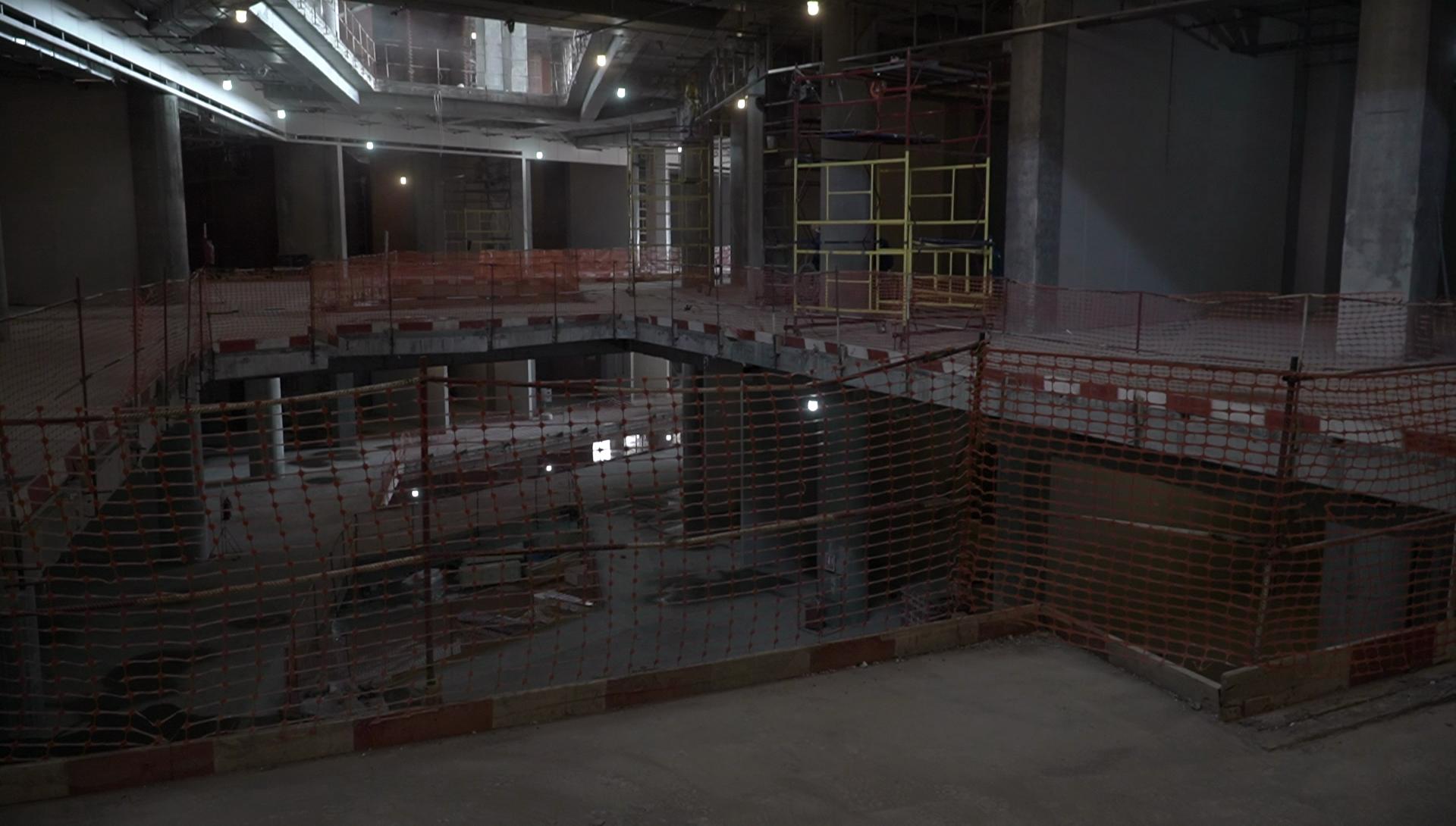 Фотогалерея: строительство МФЦ «Эспланада» изнутри