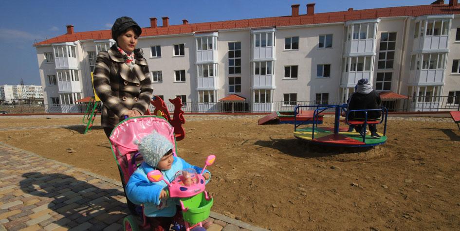 Новые дома в Крыму