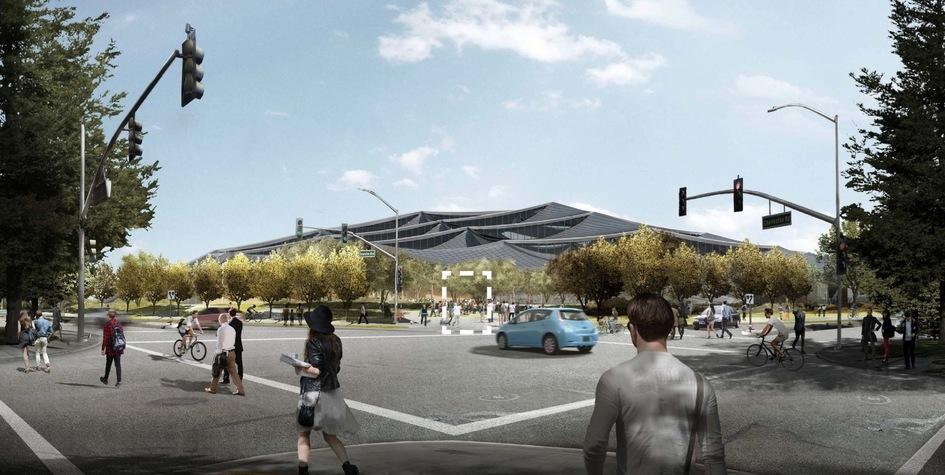 Площадь центрального двухэтажного здания составит55,3тыс.кв. м