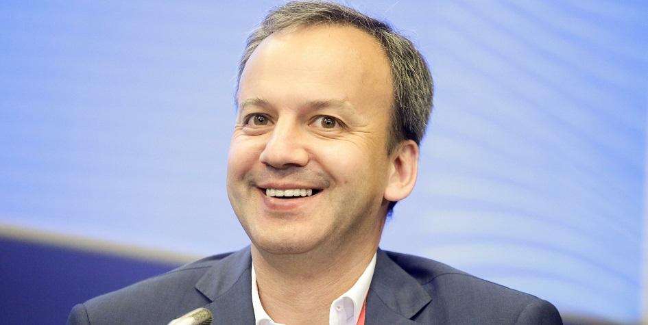Президент Международной федерации шахмат (ФИДЕ) Аркадий Дворкович