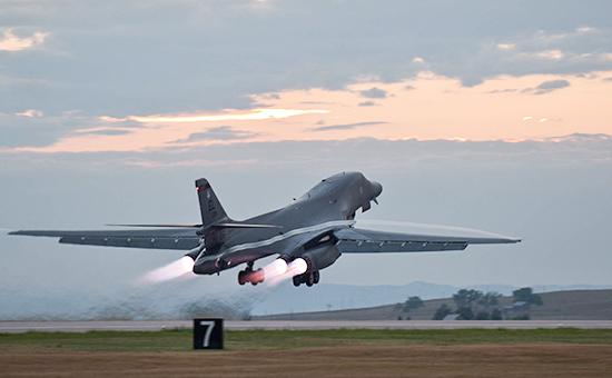 Стратегический бомбардировщик B-1В