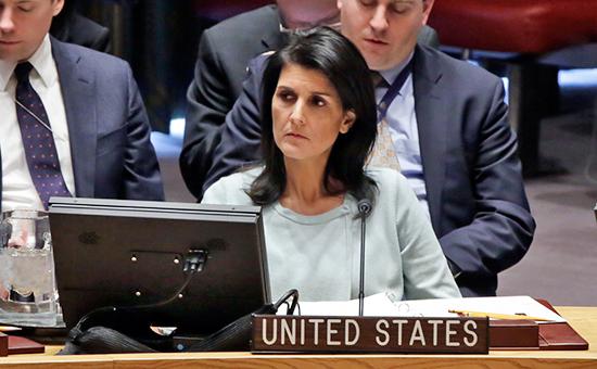 Постпред США в ООН Никки Хейли