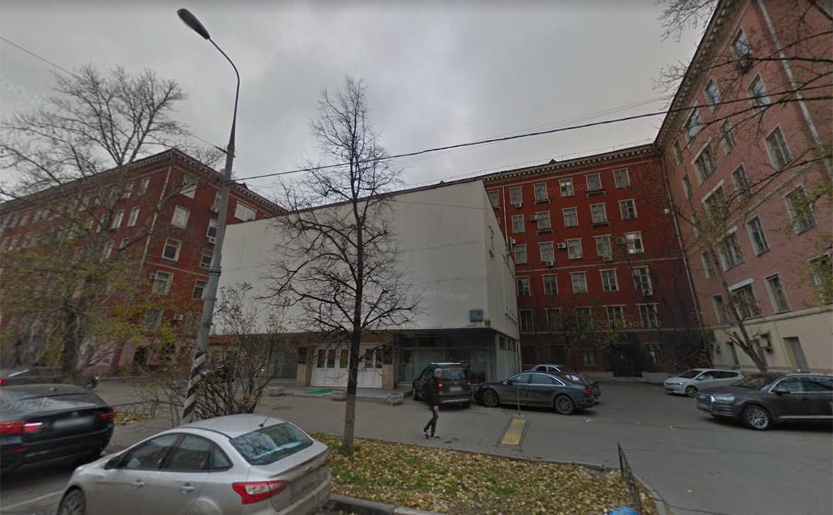 Здание ИНИОН на улице Кржижановского